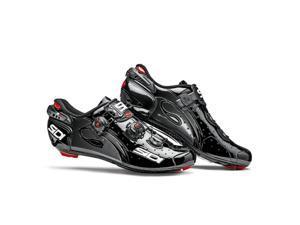 Sidi 2015 Men's Wire Vent Carbon Push Road Cycling Shoes - Black - SRS-WVC-BKBK (Black - 39.5)