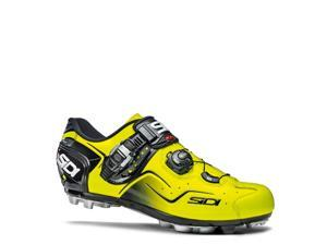 Sidi 2015 Men's Cape Mountain Cycling Shoes - Yellow Fluorescent - SMS-CPE-FLYL (Yellow Fluorecent - 42)