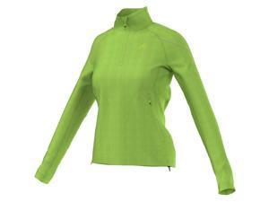 Adidas Outdoor Women's Reachout Hiking Fleece (Semi Solar Green - M)