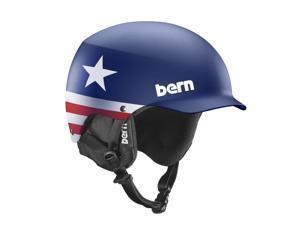 Bern 2014/15 Men's Baker Seth Wescott Pro Model Winter Snow Hardhat - w/Liner (Seth Wescott Pro Model w/ Black Liner - X