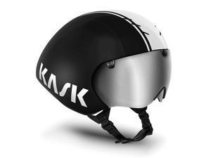 Kask Bambino Pro Time Trial Cycling Helmet (Black/White - L)