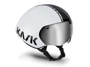 Kask Bambino Pro Time Trial Cycling Helmet (White/Black - M)