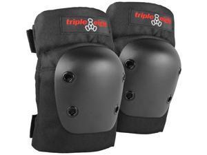 Triple Eight Street Knee Pads Set (Black - XS)