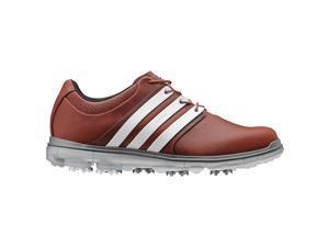 Adidas 2015 Men's Pure 360 LTD Golf Shoes - Q46892 (Tan Brown/Tour White/Silver Mettalic - 7.5)