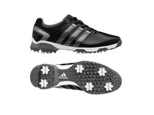 Adidas 2015 Men's AdiPower TR Wide Golf Shoes - Q44629 (Black/Iron Metallic/White - 10.5)