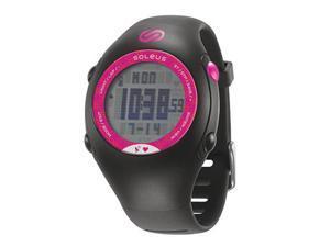 Soleus GPS mini + HRM Running Watch - SG009 (Black/Pink)