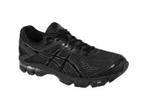 Asics 2016 Men's GT-1000 4 (4E) Extra Wide Running Shoe - T5A4N.9099 (Black/Onyx/Black - 7)