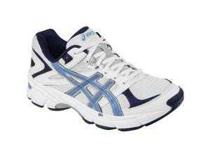 Asics 2016 Women's GEL-190 TR (2E) WIDE Training Shoe- S572N.0146 (White/Periwinkle/Midnight Navy - 11.5)