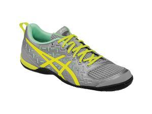 Asics 2016 Women's GEL-Fortius 2 TR Training Shoe - S567Y.1307 (Light Grey/Flash Yellow/Pistachio - 5.5)