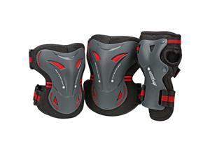 BoneShieldz Tarmac Tri Pack Protective Pads - Black - 5165 (Small)