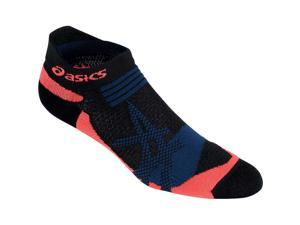 Asics 2016 Kayano Single Tab Socks - 95082 - ZK2017 (Black/Fiery Flame - M)