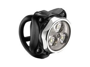 Lezyne Zecto Drive LED Front Bicycle Headlight (Silver)