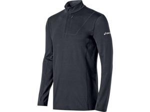 Asics 2016 Men's Team 1/2 Zip Long Sleeve Top - YT2514 (Steel Grey - S)