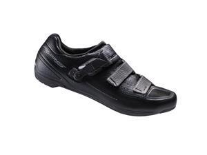 Shimano 2016 Men's Performance Race Road Cycling Shoes - SH-RP5 (Black - 40.0)