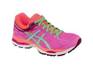 Asics 2016 Women's Gel-Clumulus 17 Running Shoe - T5D8N.3587 (Pink Glow/Pistachio/Flash Coral - 6)
