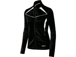 Asics 2016 Girls Jr. Cali Warm Up Jacket - YT2694 (Black/White - M)