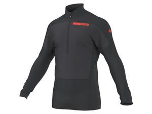 Adidas Outdoor 2015 Men's Terrex Skyclimb Long Sleeve Mountain Sport Top (Dark Grey/Solar Red - S)