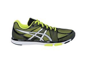 Asics 2016 Men's GEL-Exert TR Training Shoe - S410N.9093 (Black/Silver/Flash Yellow - 8.5)
