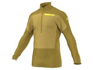 Adidas Outdoor 2015 Men's Terrex Skyclimb Long Sleeve Mountain Sport Top (Raw Ochre - 2XL)