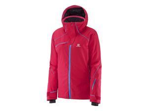 Salomon 2015/16 Women's Speed Ski Jacket (Lotus Pink - M)