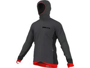 Adidas Outdoor 2015 Men's Terrex ClimaHeat TechRock Mountain Sports Hoodie Fleece (Dark Grey - 2XL)