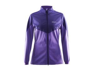 Craft 2015/16 Women's Voyage Winter Training Jacket - 1903578 (LILAC MELANGE/FLOURANGE - L)