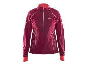 Craft 2015/16 Women's Performance Cross Country High Function Jacket - 1903684 (RUBY/CRUSH - L)