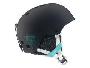 Salomon 2015/16 Women's Venom Ski Helmet (Black Matt - M)