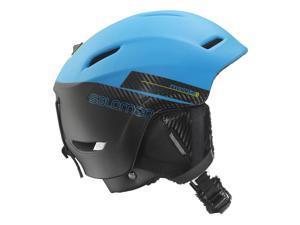 Salomon 2015/16 Phantom Auto C. Air Ski Helmet (Blue Matt/Black - S)