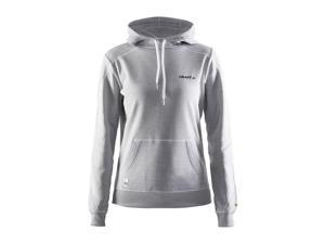 Craft 2015/16 Women's In-the-zone Hood Sweatshirt - 1902629 (Grey - L)