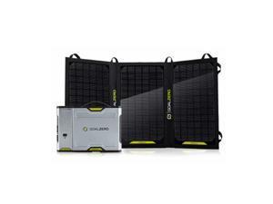 Goal Zero Sherpa 100 Solar Kit 26,400mAh Power Bank 20W Solar Panel and AC Inverter - GZ-42011