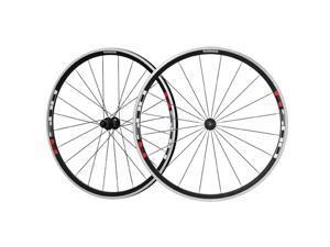 Shimano 30mm Alloy Rear Clincher Road Bike Wheel - WH-R501-30 (Black - Rear)