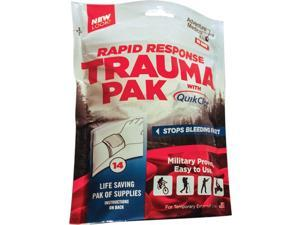 Adventure Medical Kits Rapid Response Trauma Pak with QuickClot First Aid Kit - AMK-2064-0294