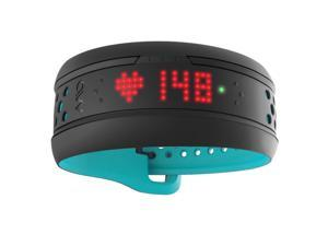 Mio FUSE Heart Rate + Activity Tracker Wrist Band - Multilingual International Packaging (Aqua - Small/Medium Strap)