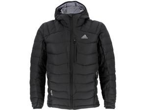 Adidas Outdoor 2015 Men's Terrex Dawn Wall Hoodie Winter Jacket (Black - L)
