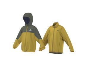 Adidas Outdoor 2015 Boy's ClimaProof 3 in 1 Lieblings Hooded Jacket (Raw Ochre/Base Green - M)