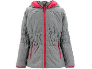 Adidas Outdoor 2015 Girl's Lofty Hoody Hiking Jacket (Vista Grey/Clear Onix - XS)