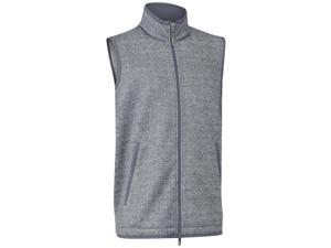 Ashworth 2015/16 Printed Tweed Sweater Fleece Vest - Graphite - B19688 (XL)