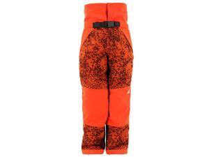 Adidas Outdoor 2015 Boys/Girls Snowfun Snow Sports Pants (Bold Orange/Vista Grey - M)