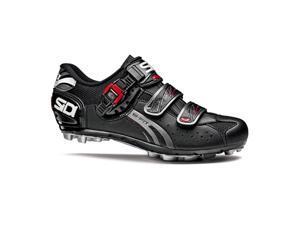 Sidi 2015/16 Men's Dominator Fit Black Mountain Cycling Shoes - 14205101 (Black - 38.0)