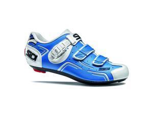 Sidi 2015 Men's Level Road Cycling Shoes - Blue/White - SRS-LVL-BLWH (Blue/White - 43.0)