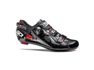 Sidi 2016 Men's Ergo 4 Carbon Mega Road Cycling Shoes - SRS-E4M (Black - 42.0)