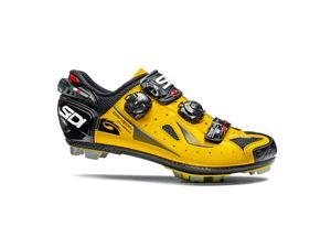 Sidi 2015/16 Men's MTB Dragon 4 Mountain Cycling Shoes - SMS-DG4 (Yellow/Black - 42.0)