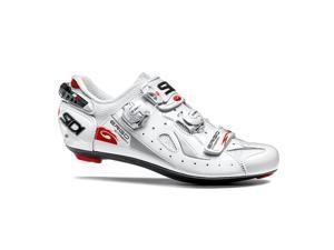 Sidi 2016 Men's Ergo 4 Carbon Mega Road Cycling Shoes - SRS-E4M (White - 43.0)