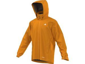 Adidas Outdoor 2016 Men's All Outdoor 2L Wandertag Solid Jacket (EQT Orange - L)