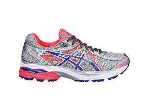 Asics 2016 Women's GEL-Flux 3 Running Shoes - T664N.9352 (Silver/Blue Berry/Flash Coral - 5)