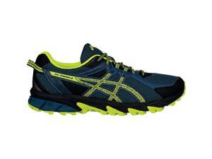 Asics 2016 Men's GEL-Sonoma 2 Running Shoes - T634N.5107 (Mediterranean/Flash  Yellow/Black - 13)