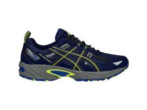 Asics 2016 Men's GEL-Venture 5 Trail Running Shoe - T5N3N.5090 (Indigo Blue/Black/Flash Yellow - 8.5)