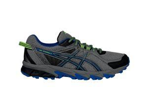 Asics 2016 Men's GEL-Sonoma 2 Running Shoes - T634N.9742 (Carbon/Snorkel Blue/Green Gecko - 10.5)
