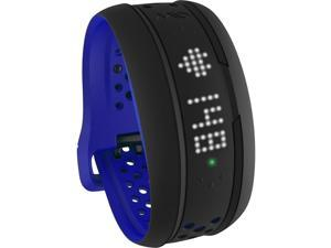 Mio FUSE Heart Rate + Activity Tracker Wrist Band (Cobalt - Regular Strap)